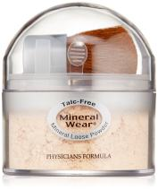 Physicians Formula Mineral Wear Loose Powder, Soft Ivory, 0.49 Ounce