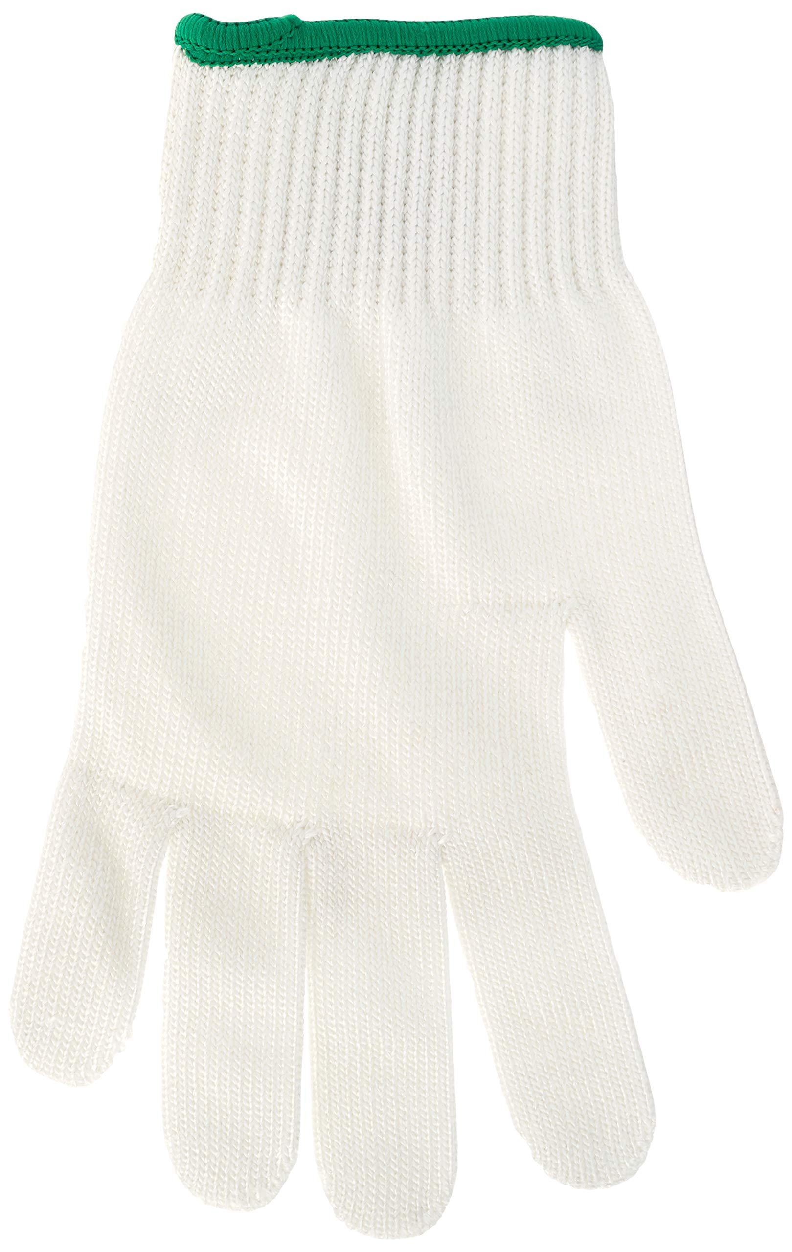 Mercer Culinary M33413M Millennia Level A5 Cut Glove, Medium, White