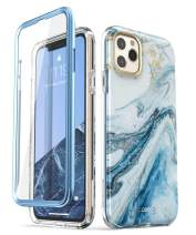 i-Blason Cosmo Series Case for iPhone 11 Pro 5.8 inch, Slim Full-Body Stylish Protective Case with Built-in Screen Protector (Blue)