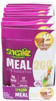 Sneakz Organic Meal2Go Complete Nutritional Shake, Vanilla Cinnamon Swirl, 10 servings