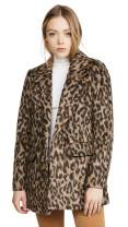 Rebecca Taylor Women's Leopard Coat