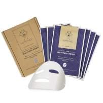 HOMMEFACE Facial Sheet Mask Sets for Men (6 count, Moisture Boost)