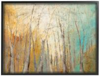 """The Stupell Home Décor Collection Watercolor November Oversized Framed Giclee Texturized Art, 16"""" x 20"""", Multi-Color"""
