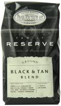 PapaNicholas Coffee Ground Coffee, Family Reserve Black and Tan Blend, 12 Ounce