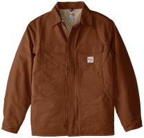 Carhartt Men's Big & Tall Flame Resistant Duck Traditional Coat