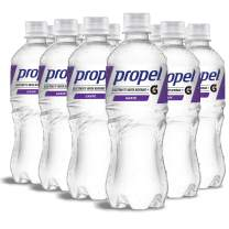 Propel, Grape, Zero Calorie Sports Drinking Water with Electrolytes and Vitamins C&E, 16.9 Fl Oz (12 Count)