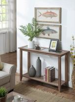 Convenience Concepts Carmel Console Table, Driftwood