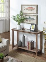 Convenience Concepts Carmel Console Table, Driftwood
