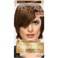 L'Oréal Paris Superior Preference Fade-Defying + Shine Permanent Hair Color, 5.5AM Medium Copper Brown, 1 kit Hair Dye