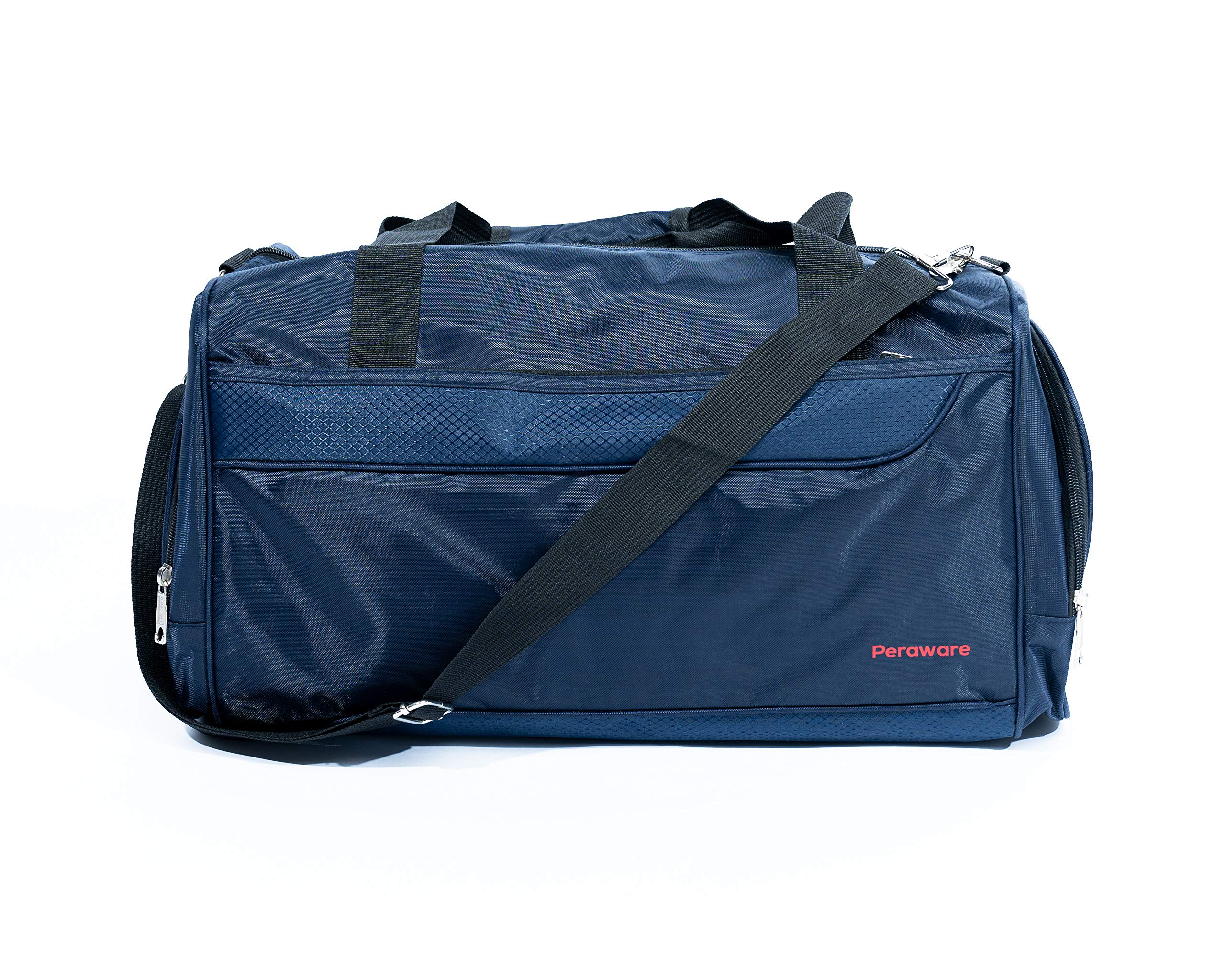 Peraware Sport Duffle Bag for Fitness Gym Sports Travel Lightweight Luggage Carry-on (Ocean)