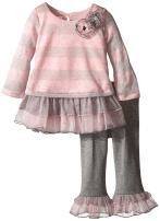 Bonnie Baby Baby Girls' Legging Set