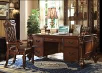 ACME Vendome Cherry Executive Desk