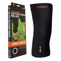 Incrediwear Knee Sleeve, XX-Large, Black