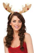 Rubie's Costume Women's Clausplay Light-Up Headband