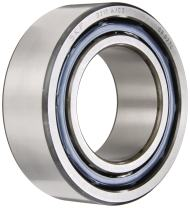 """SKF 3217 A/C3 Double Row Ball Bearing, Converging Angle Design, 32° Contact Angle, ABEC 1 Precision, Open, Standard Cage, C3 Clearance, 85mm Bore, 150mm OD, 1 15/16"""" Width"""