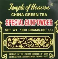 China Green Tea Special Gunpowder 1 Kilo (1000grams or 35.27 Oz) Guaranteed Authenticity - PACK OF 3