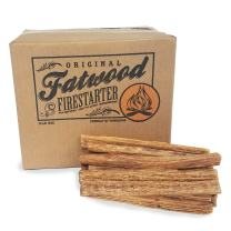 Earth Worth 2400 10 Pound Box - Fatwood Firestarter