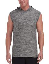 Amazon Essentials Men's Big & Tall Tech Stretch Sleeveless Pullover Hoodie fit by DXL