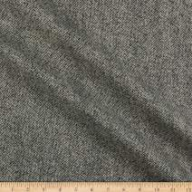 Tuva Textiles Wool Blend Coating Tweed Black/White, Fabric by the Yard