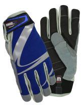 Magid Glove and Safety Comfortflex Pro Blue Swirl Gloves, Medium