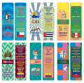 Creanoso The Americas Countries Facts Educational Series 2 Bookmarks (30-Pack) – Unique Learning Facts Rewards Cards – Awesome Educational Stocking Stuffers Gift Bookmarks for Students, Boys, Girls