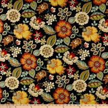 Swavelle/Mill Creek Indoor/Outdoor Dembella Fabric, Moon dance, Fabric By The Yard