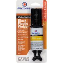Permatex 84145-12PK Permapoxy Black Plastic Weld, 0.84 fl. oz. (Pack of 12)