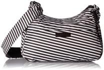 JuJuBe HoboBe Purse Diaper Bag, Onyx Collection - Black Magic