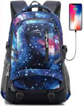 Backpack for School College Student Bookbag Travel Business with USB Charging Port