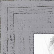 ArtToFrames 12x16 inch Weathered Barnwood in Saturated Grey Wood Picture Frame, WOMSM-ECO150-GRY-12x16