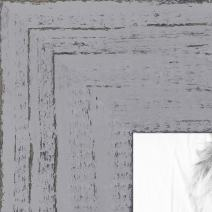 ArtToFrames 16x16 inch Weathered Barnwood in Saturated Grey Wood Picture Frame, WOMSM-ECO150-GRY-16x16