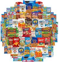 Crunch n Munch Ultimate Care Package Assortment Gift Box by Variety Fun (100 Count)