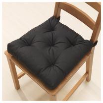 Ikeas MALINDA Chair cushion (4, Black)