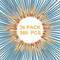 AOOK 360 Pieces Paint Brush Set Professional Paint Brushes Artist for Watercolor Oil Acrylic Painting (36-Pack 360Pcs)