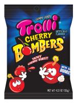 Trolli Cherry Bombers Gummy Candy, 4.25 Ounce Bag, Pack of 12