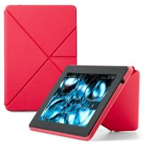 Amazon Kindle Fire HD Standing Polyurethane Origami Case (only fit 3rd generation), Pink
