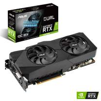 ASUS GeForce RTX 2060 SUPER Overclocked 8G EVO GDDR6 Dual-Fan Edition VR Ready HDMI DisplayPort DVI Graphics Card (DUAL-RTX2060S-O8G-EVO)