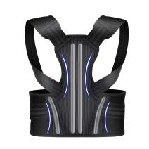 Posture Corrector Back Brace M for Men Women and Teenagers,Adjustable and Breathable Upper Back Brace Provides Back Support, Improve Slouch, Prevent Humpback, Relieve Back Pain