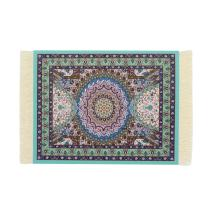 Kotoyas Persian Style Carpet Mouse Pad, Several Images (Blue Heart)