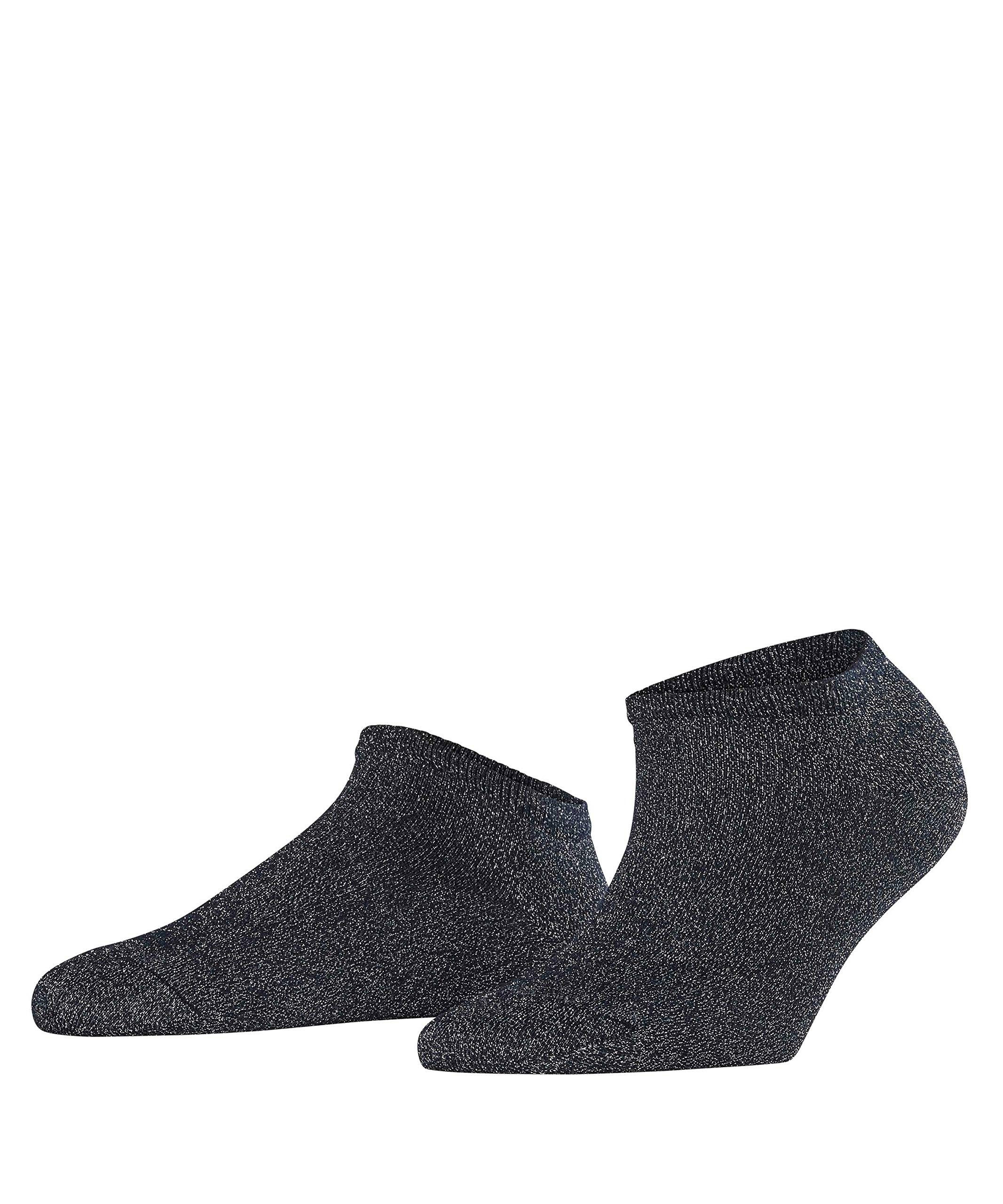 FALKE Womens Shiny Sneaker Casual Sock - Viscose Blend, Multiple Colors, US sizes 5 to 10.5, 1 Pair