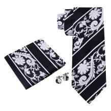 Twenty Dollar Tie Men's Statement Tie Pocket Square Cuff-links Set
