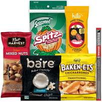 Frito-Lay Pack, Variety Assortment of Snacks with 5g Net Carbs or Less, Ultimate Power Snack Care Package, 20 Count