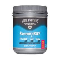 Vital Proteins Recovery BCCA Powder -8g BCAAs, 5g Essential Amino Acids, 20g of Collagen (Passionfruit)