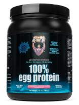 Healthy 'N Fit 100% EGG PROTEIN- Strawberry (12oz): 100% Egg White Protein PLUS Natural Peptides. The Highest Quality, Purest, Most Effective, All Natural Protein.