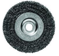 "Century Drill & Tool 76853 Fine Crimped Bench Grinder Wire Wheel, 5"""
