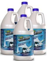 Green Gobbler Porta Fresh Best RV Marine Porta Potty Holding Tank Treatment Deodorizer & Digestant (4 x 1 Gallon Case)