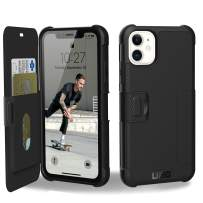 URBAN ARMOR GEAR UAG Designed for iPhone 11 [6.1-inch Screen] Metropolis Feather-Light Rugged [Black] Military Drop Tested iPhone Case