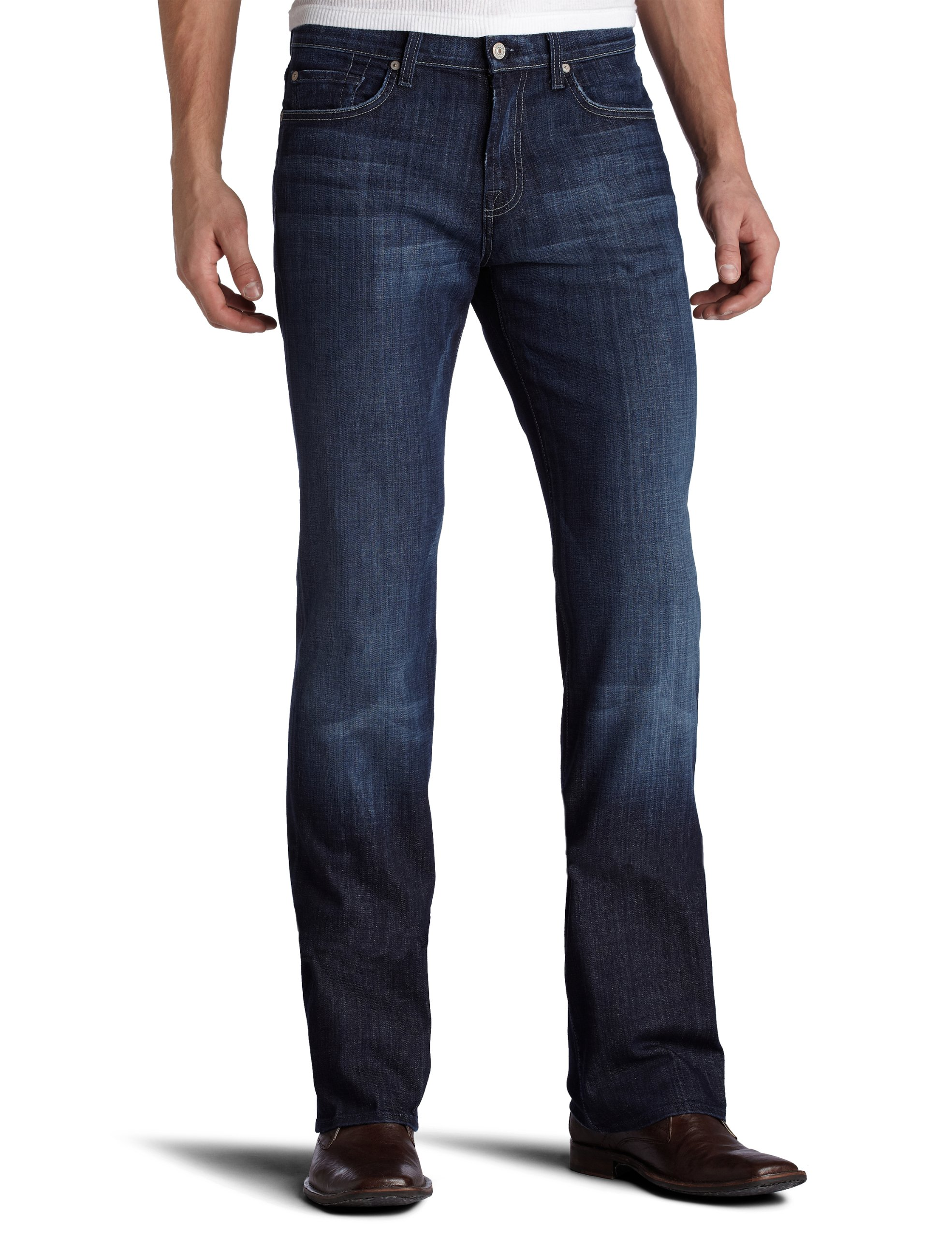 7 For All Mankind Mens Jeans Austyn Relaxed Fit Straight Leg Pant