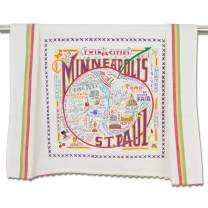 catstudio Minneapolis & St. Paul Dish & Hand Towel | Beautiful Award Winning Home Decor Artwork | Great For Kitchen & Bathroom