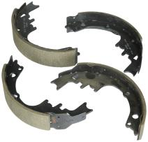 Bosch BS245 Blue Drum Brake Shoe Set for Select 1964-96 Buick, Chevrolet, GMC, Oldsmobile, and Pontiac Cars and Vans - FRONT/REAR